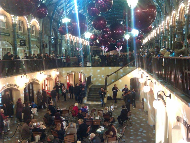 Christmas, Covent Garden, London